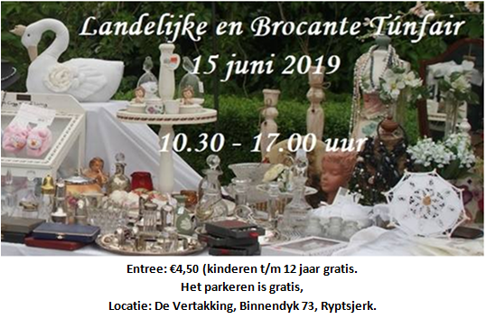 Save the date – 15 juni Túnfair